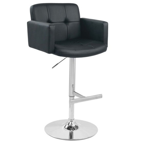 Lumisource Stout Adjustable-Height Barstool