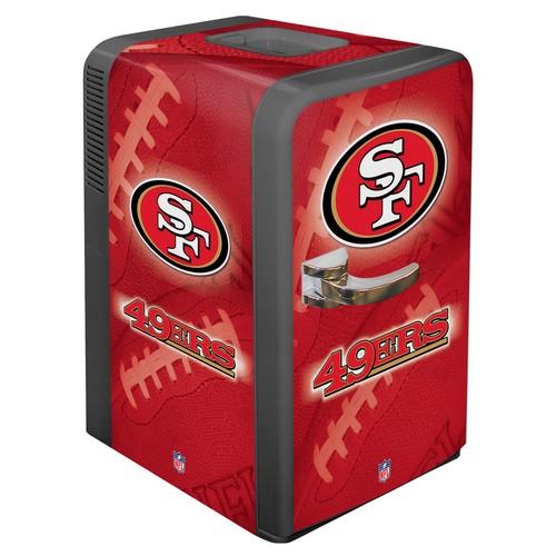 Boelter San Francisco 49ers 15q Portable Party Refrigerator