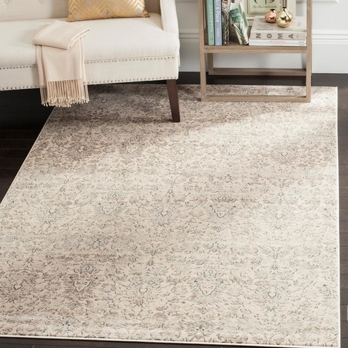 Safavieh Vintage Ivory/Grey 5 ft. 1 in. x 7 ft. 7 in. Area Rug
