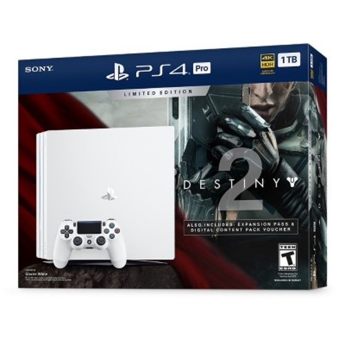 Sony - PlayStation 4 Pro 1TB Limited Edition Destiny 2 Console Bundle
