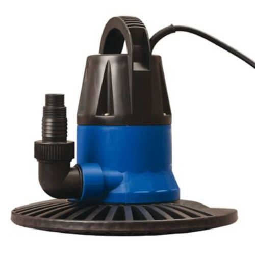 Dredger NW2350 1250 GPH Cover Pump with Base, Black