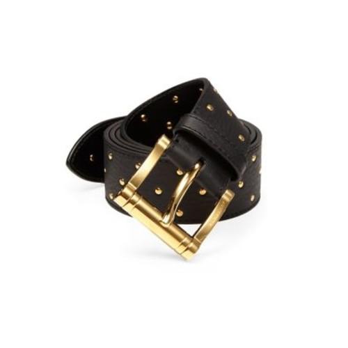 BURBERRY Studded Leather Belt