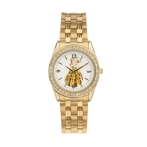 Disney's Beauty and the Beast Princess Belle Women's Crystal Watch