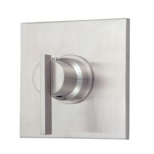 Danze Sirius 3/4 in. Thermostatic Shower Valve Trim Only in Brushed Nickel