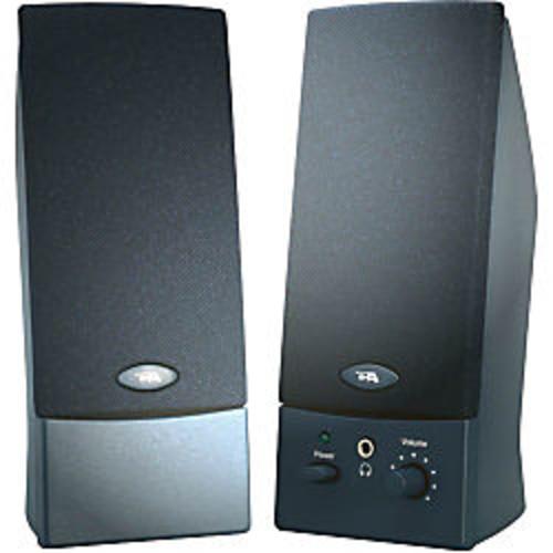 Cyber Acoustics CA-2011WB 2.0 Speaker System - 4 W RMS - Black Item # 789178