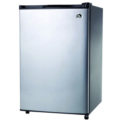 Igloo 4.6 Cu Ft Bar Fridge Stainless Door