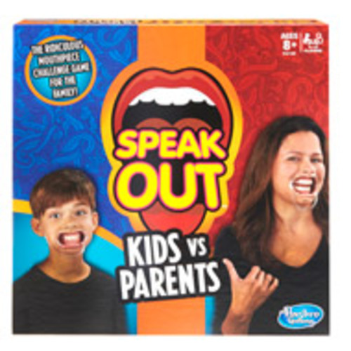 Speak Out Kids vs Parents Board Game