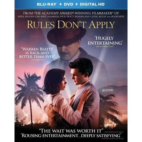 Rules Don't Apply [Blu-ray/DVD] [2016]