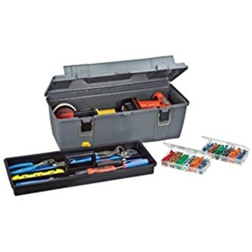 Plano 652-009 Grab-N-Go 20-Inch Tool Box with Tray [20-Inch]