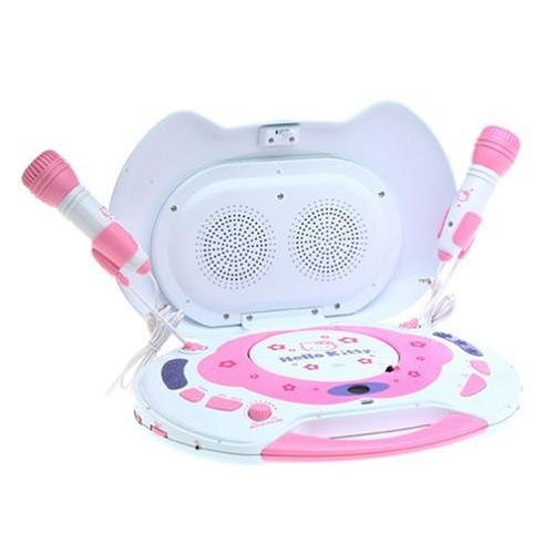Hello Kitty Sing-A-Long CD Karaoke System with Player