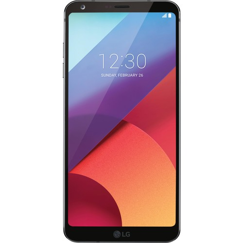 LG - G6 US997 4G LTE with 32GB Memory Cell Phone (Unlocked) - Black