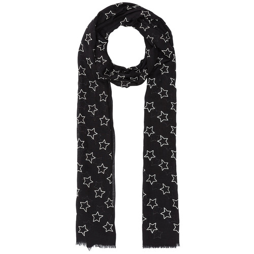 SAINT LAURENT Star Print Scarf