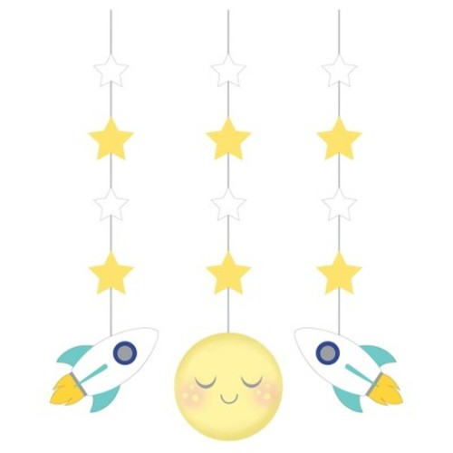 3ct To the Moon and Back Hanging Cutouts
