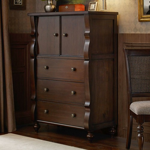 Madison Park Signature Beckett Tall Storage Cabinet