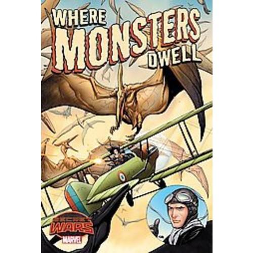 Where Monsters Dwell: The Phantom Eagle Flies the Savage Skies (Paperback)