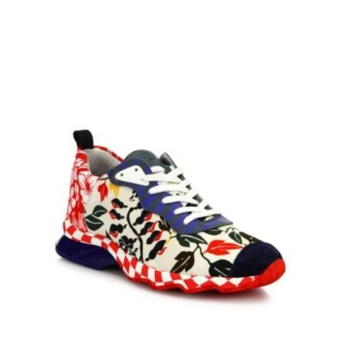 FENDI Hypno Ffast Printed Sneakers