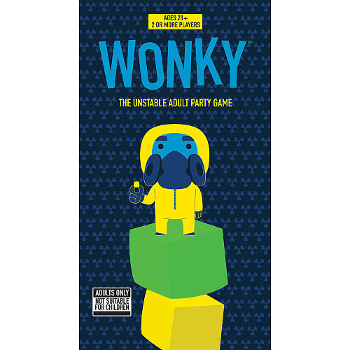 USAopoly Wonky(R): The Unstable Adult Party Game