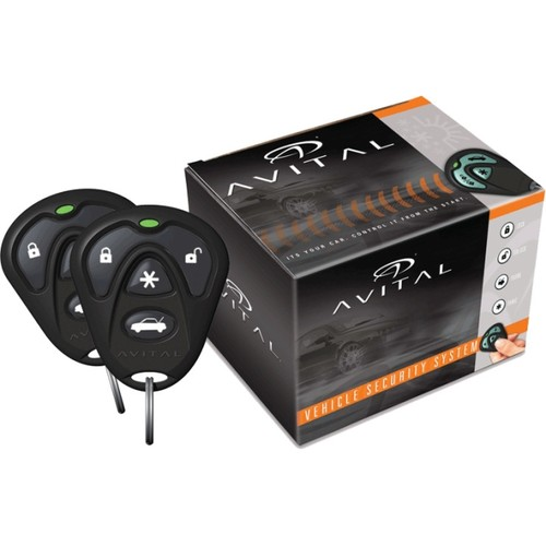 AVITAL 3100LX 3100 1-WAY SECURITY SYSTEM WITHOUT SIREN