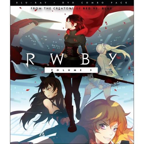 RWBY: Vol. 3 [Blu-ray] [2 Discs]