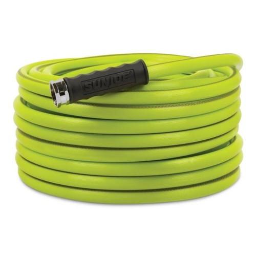 Sun Joe Aqua Joe 1/2 in. Dia. x 75 ft. Heavy Duty, Kink-Resistant, Lightweight Garden Hose, Lead-free, BPA-Free