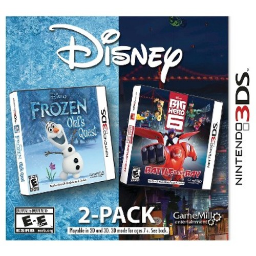 Disney Frozen: Olaf's Quest and Disney Big Hero 6: Battle in the Bay for Nintendo 3DS