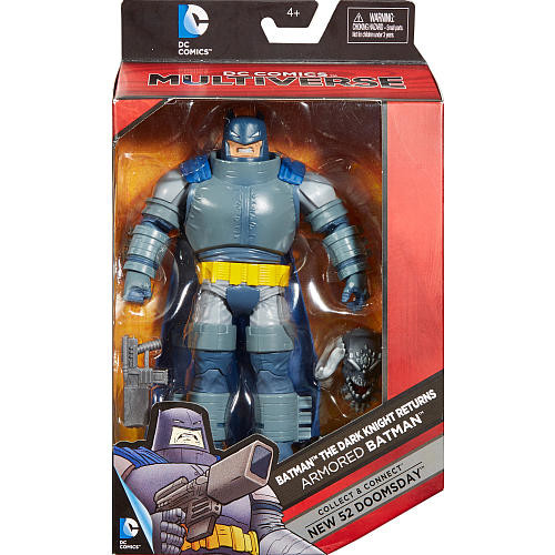 DC Comics Batman The Dark Knight Rerturns 6 inch Action Figure - Armored Batman