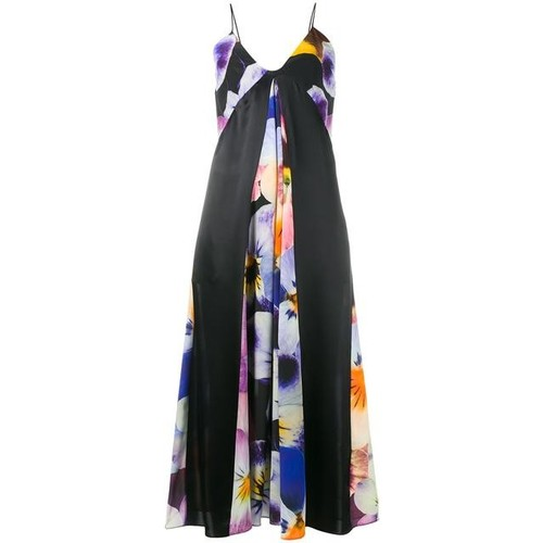 CHRISTOPHER KANE All-Over Pansy Print Cami Dress
