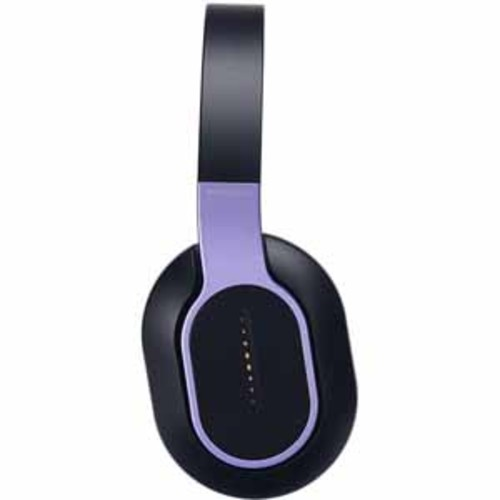 Phiaton Wireless Headphones with Swipe & Touch Interface - Violet