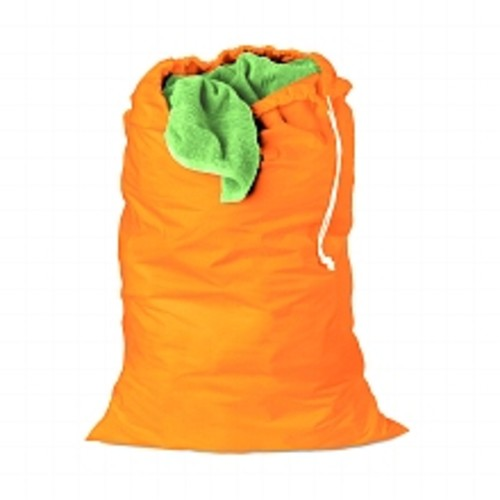 Honey Can Do Jersey Cotton Laundry Bag, 24 X 36 Orange