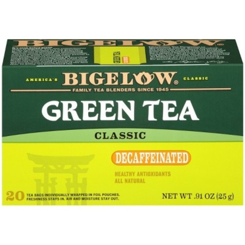 Bigelow Naturally Decaffeinated Green Tea - 20-ct