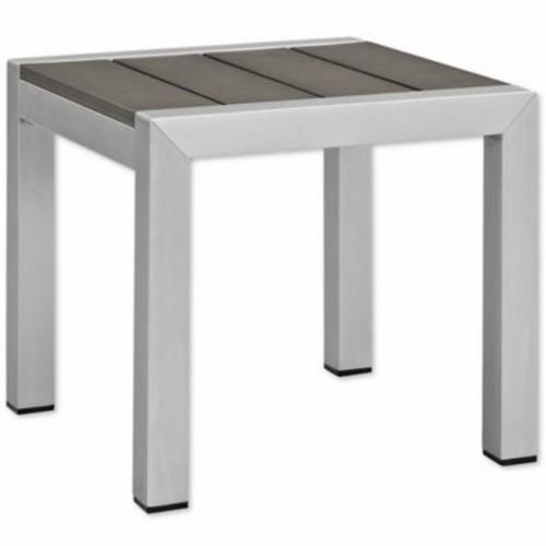 Modway Shore Aluminum Side Table