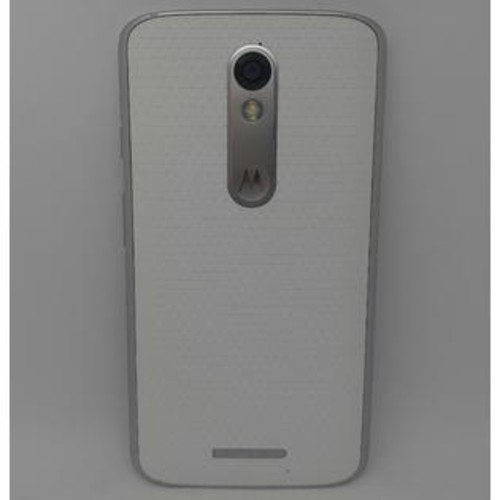 Motorola - DROID Turbo 2 4G LTE with 32GB Memory Cell Phone - White Soft Touch (Verizon)