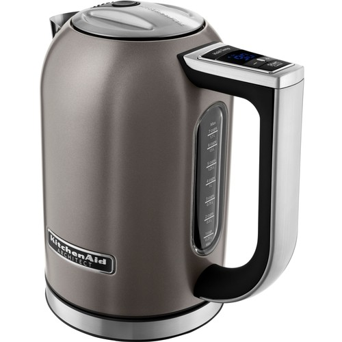 KitchenAid - 1.7L Electric Kettle - Brushed Stainless Steel