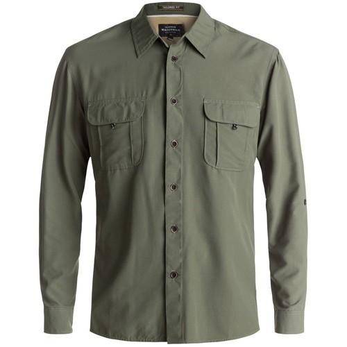 Quiksilver Waterman Trailblazing Long-Sleeve Button-Down Shirt - Men's