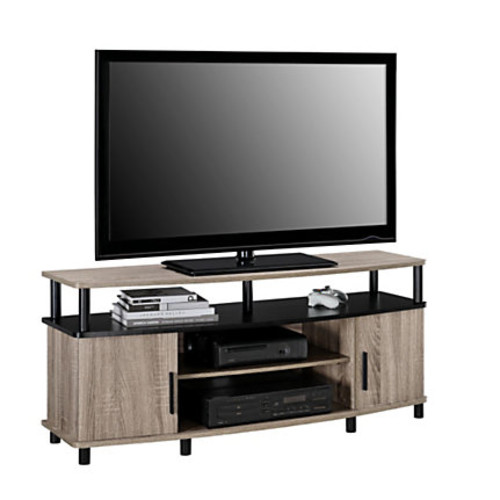 Ameriwood Carson Engineered Wood TV Stand For Flat-Screen TVs Up To 50