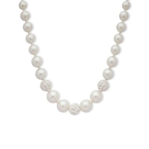 Gleaming Pearl Necklace