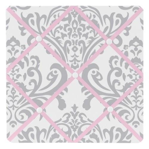 Sweet Jojo Designs Pink and Gray Elizabeth Memo Board