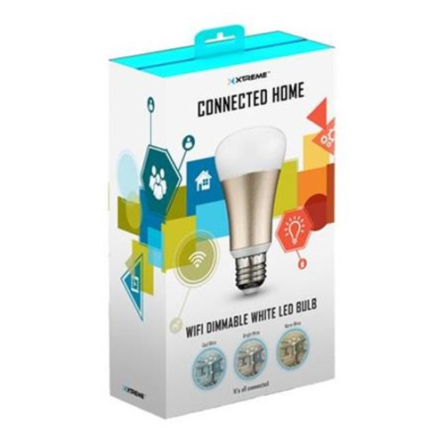 Xtreme Cables Wi-Fi Dimmable White LED Bulb