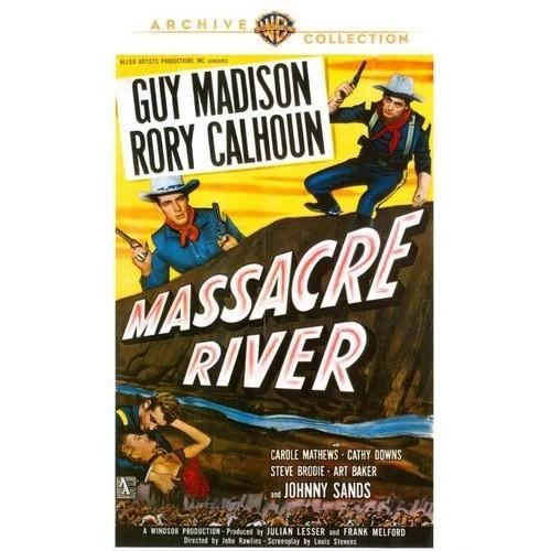 Massacre River [DVD] [1949]