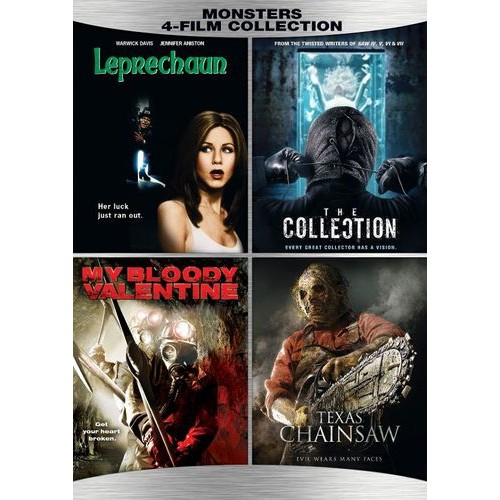 Monsters: 4-Film Collection [DVD]