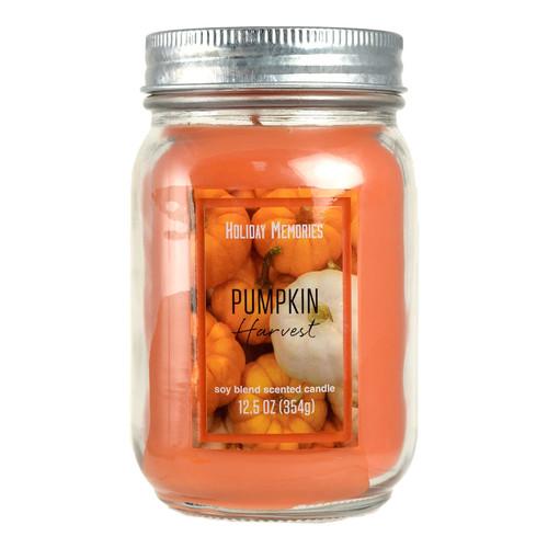 Holiday Memories Pumpkin Harvest 12.5-oz. Candle Jar