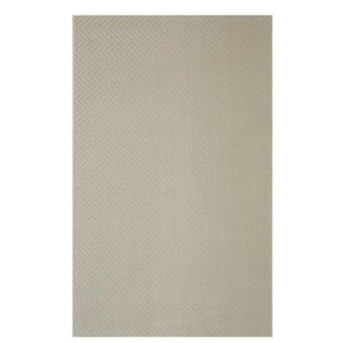 Mohawk Home Twillville Cream/Beige 8 ft. x 10 ft. Area Rug