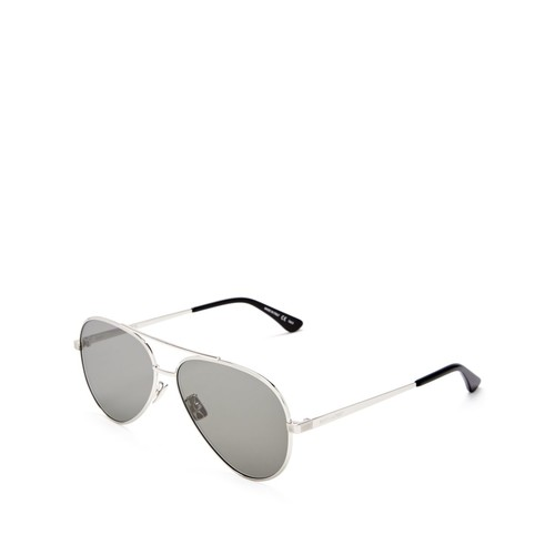 SAINT LAURENT Classic Zero Aviator Sunglasses, 59Mm