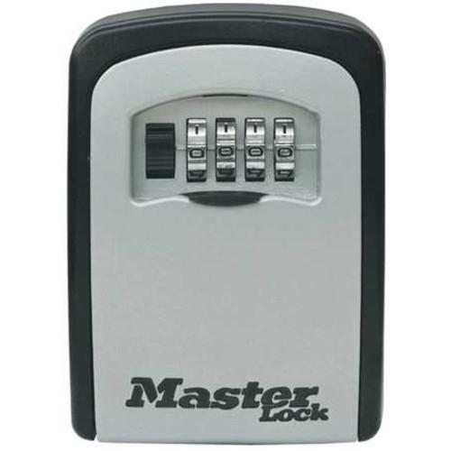 Master Lock Lock Box, Surface Mount, 5 Keys 5401D
