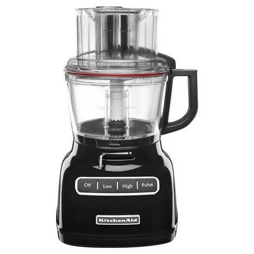KitchenAid KFP0933OB Onyx Black 9-cup Food Processor with ExactSlice System