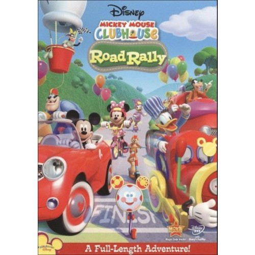 Mickey Mouse Clubhouse: Road Rally (DVD) [Mickey Mouse Clubhouse: Road Rally DVD]