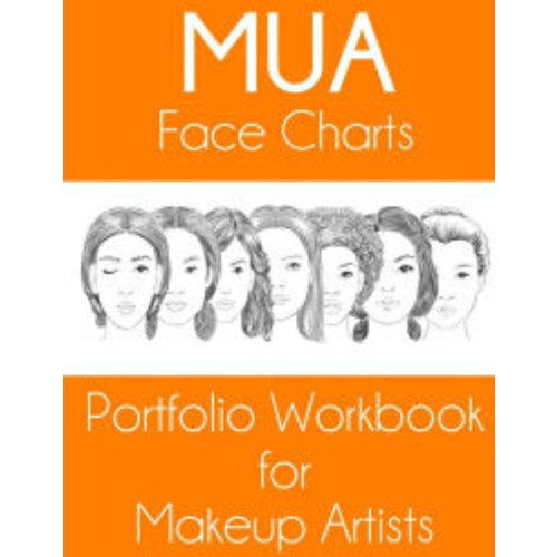 MUA Face Charts Portfolio Workbook for Makeup Artists