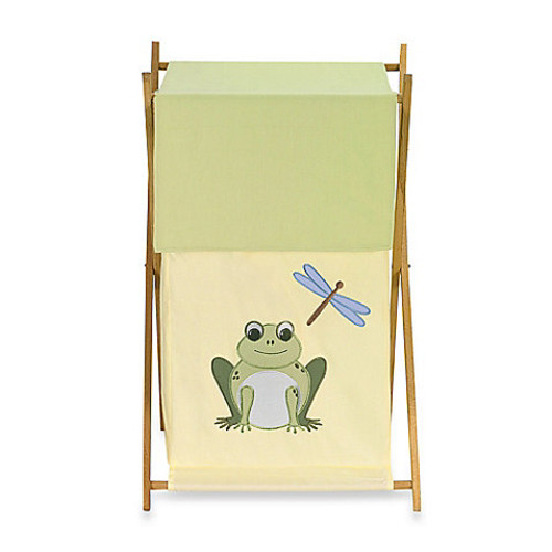 Sweet Jojo Designs Leap Frog Laundry Hamper
