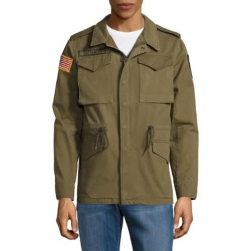 Zip-Front Cotton Jacket