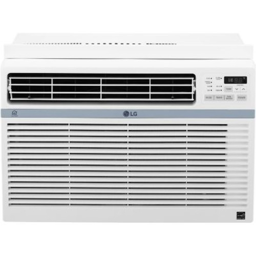 LG Energy Star 12,000 BTU 115V Window-Mounted Air Conditioner with Wi-Fi Control